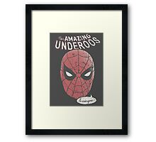 The Amazing Underoos Captain America: Civil War Movie Quote Framed Print