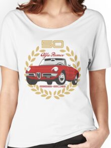 Alfa Romeo Spider 50 years Women's Relaxed Fit T-Shirt