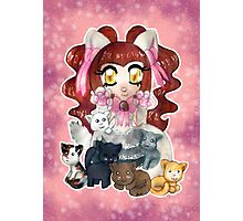 Kawaii Kitty  Photographic Print