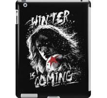 Winter is Coming Captain America: Civil War Movie Quote iPad Case/Skin