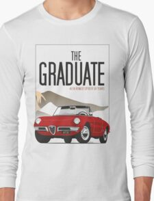 Alfa Romeo Duetto from the Graduate Long Sleeve T-Shirt