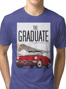 Alfa Romeo Duetto from the Graduate Tri-blend T-Shirt
