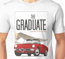 Alfa Romeo Duetto from the Graduate Unisex T-Shirt