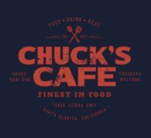 Chuck's Cafe (aged look) Kids Tee