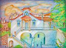 iPad case.  iPhone. House III. Sintra by terezadelpilar ~ art & architecture