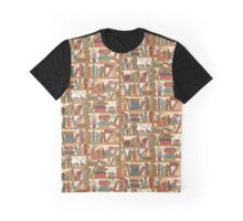 Bookshelf No.1 Graphic T-Shirt