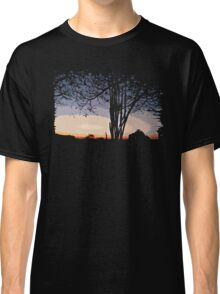 Sunset Landscape Classic T-Shirt