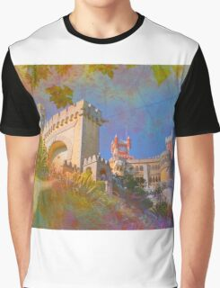 Palácio da Pena.  Graphic T-Shirt