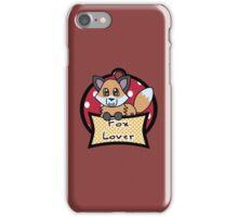 Fox Lover 1 iPhone Case/Skin