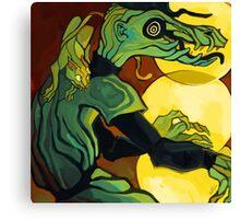 Avatar Beat Canvas Print
