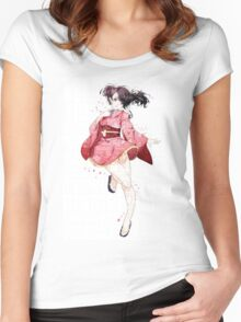 Mumei - Koutetsujou no Kabaneri | Kabaneri of the Iron Fortress Women's Fitted Scoop T-Shirt
