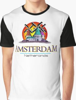 Amsterdam, The Netherlands Graphic T-Shirt