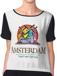 Amsterdam, The Netherlands Chiffon Top
