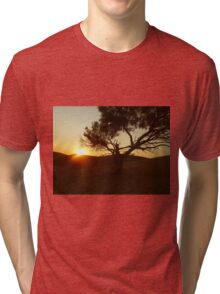 Sand Dune Sunset Tri-blend T-Shirt