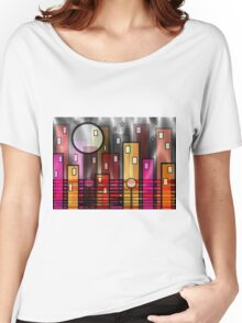 Psychedelic City Women's Relaxed Fit T-Shirt