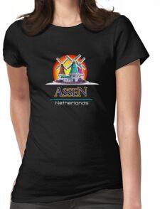 Assen, The Netherlands Womens Fitted T-Shirt