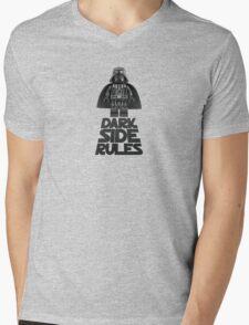 Dark side lego Mens V-Neck T-Shirt