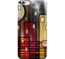 Psychedelic City iPhone Case/Skin