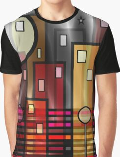 Psychedelic City Graphic T-Shirt
