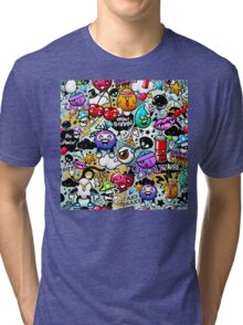 graffiti fun Tri-blend T-Shirt