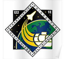 STS-122 Mission Logo Poster