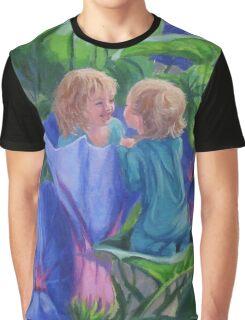 Morning Glories Graphic T-Shirt