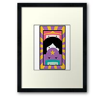 Adventure Time Totem Girls Framed Print
