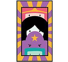 Adventure Time Totem Girls Photographic Print