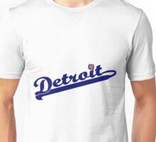 Tigers of Detroit Logo Unisex T-Shirt