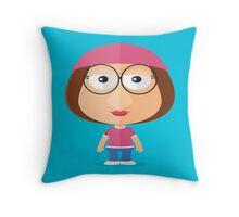 Meg Potato Head Throw Pillow