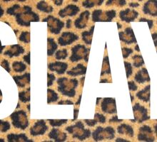 Slay Leopard Sticker