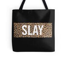 Slay Leopard Tote Bag