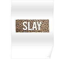 Slay Leopard Poster