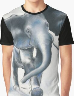 Shades of Blue Graphic T-Shirt