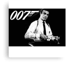 James Bond Sean Connery Canvas Print