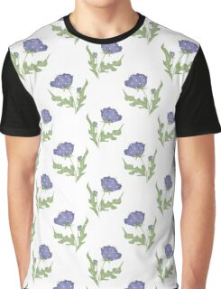 Seamless floral pattern print background Graphic T-Shirt