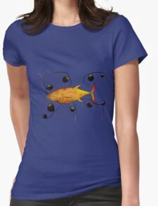Tuorangossi V1 - orange tunafish Womens Fitted T-Shirt