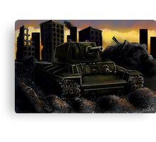 Rusty Tank Canvas Print