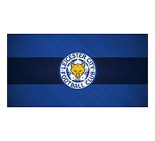 LEICESTER CITY Photographic Print