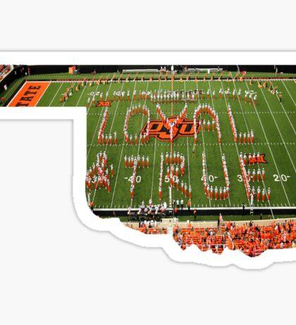 Loyal And True Oklahoma Sticker