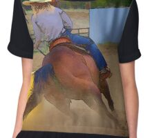 Champion Barrel Racer Chiffon Top
