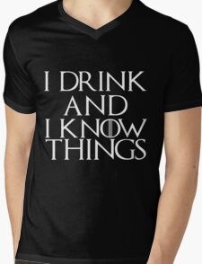 Tyrion Lannister Quote Mens V-Neck T-Shirt