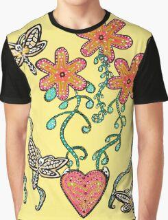 Tranquil Garden Graphic T-Shirt