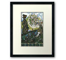 Ivan Bilibin - Island Framed Print