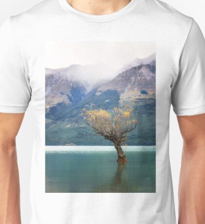 The Lone Willow - Glenorchy New Zealand Unisex T-Shirt