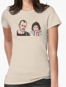 Leon and Mathilda Womens Fitted T-Shirt