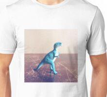 Blue Dinosaur  Unisex T-Shirt