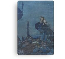 Dulac - Mermaids Canvas Print