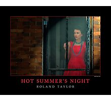 Hot Summer's Night, ©2010 Roland Taylor Photographic Print