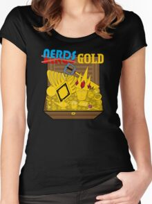 King's Gold Women's Fitted Scoop T-Shirt